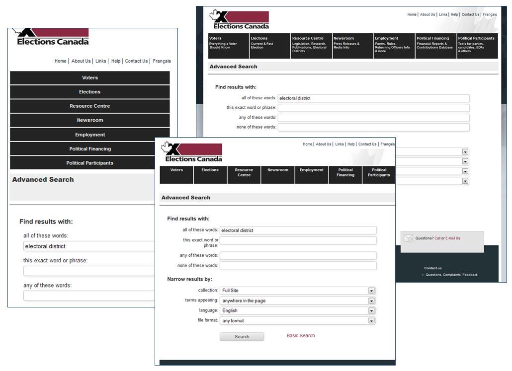 Google Search Appliance Gsa A Journey Into An Accessible Responsive Web Design Norconex Inc